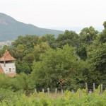 A hegy mögött a Balaton